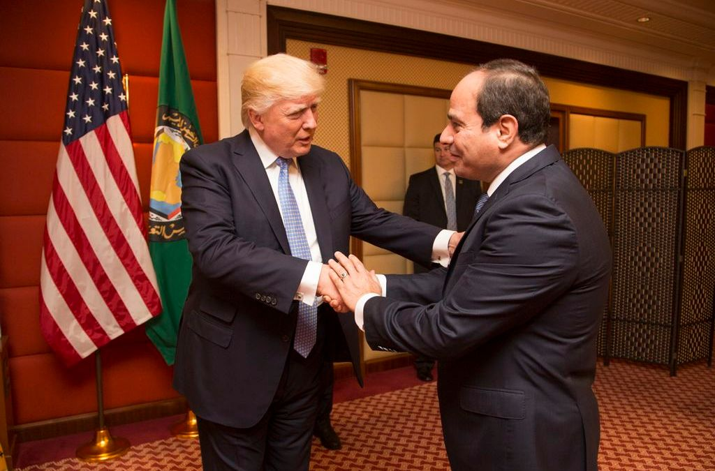 Opinion: In the wake of anti-government protests, Trump's support of Egypt sidelines democracy