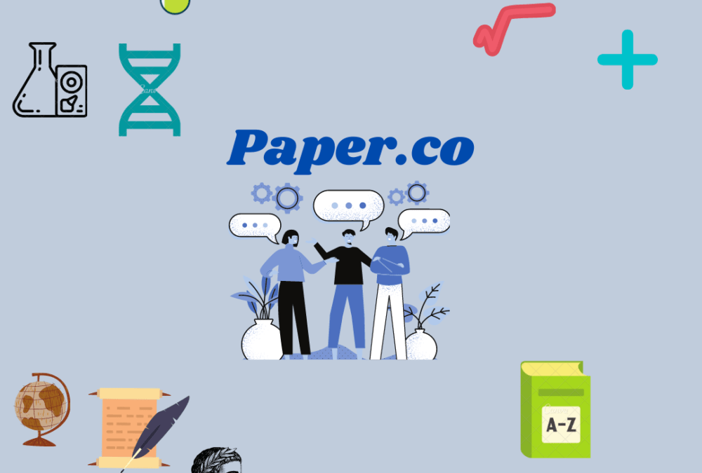 An overview of the Paper tutoring service