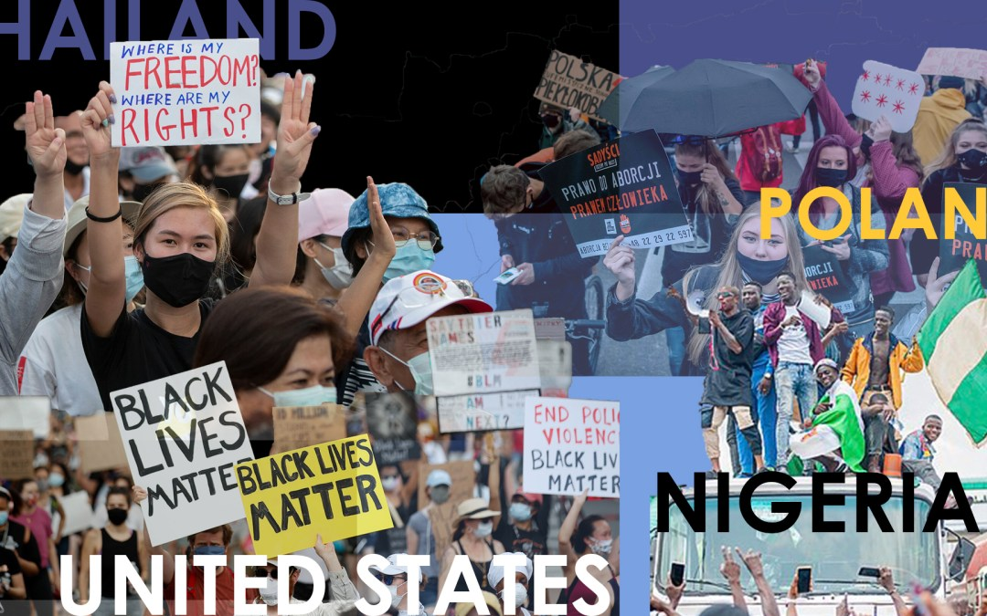 A guide to ongoing protests in 2020