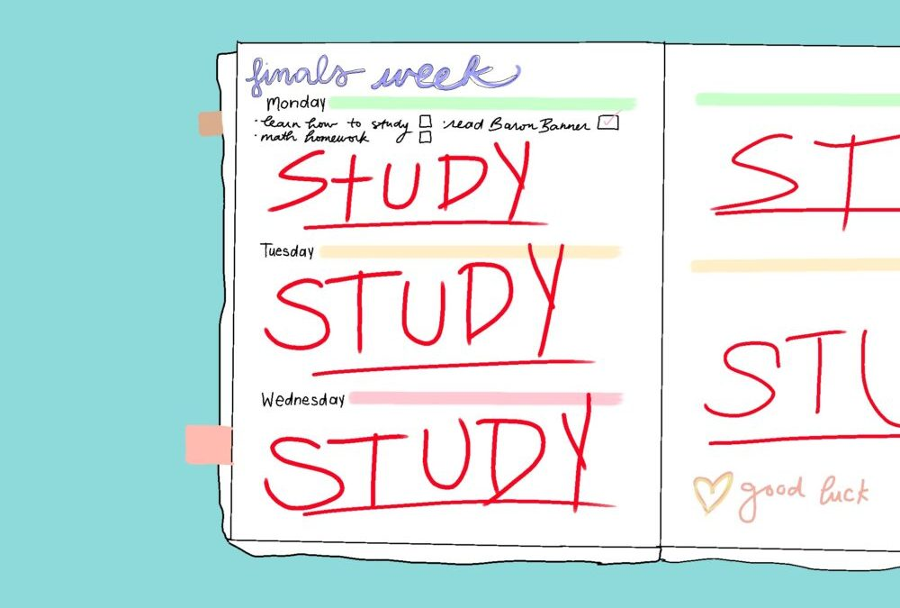 A guide to studying for finals