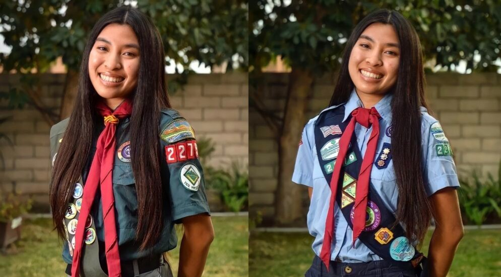 Tiffany Hoang inspires girls on their journeys to the Gold Award and Eagle Scout Award