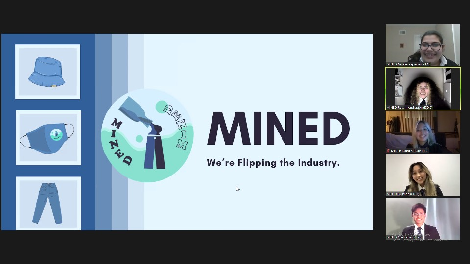 Virtual Enterprise's MINED team makes strides in an online setting