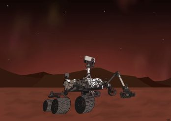 NASA launched the Perseverance rover to Mars in search of life on Feb. 18. Illustration by Vyvyan Nguyen.