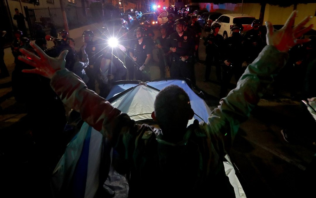 Opinion: L.A.'s homeless population needs support now
