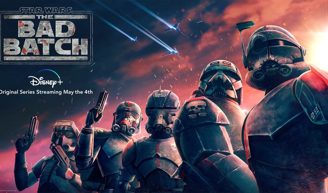 New 'Star Wars' show 'The Bad Batch' is now streaming on Disney+