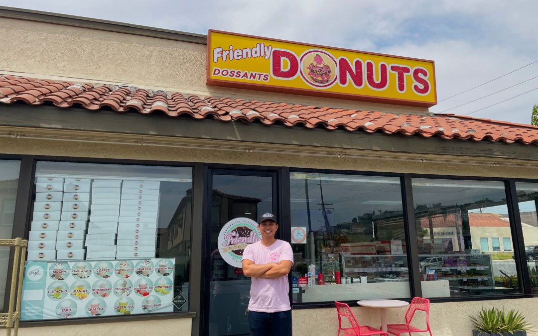 Cambodian immigrant-owned Friendly Donuts is sprinkled with history