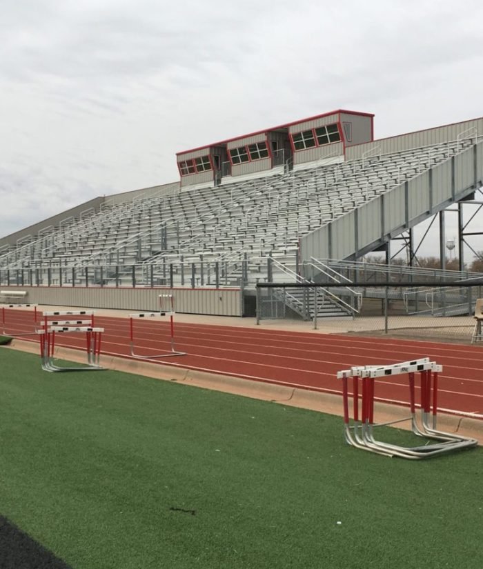 Shallowater high school football home stands