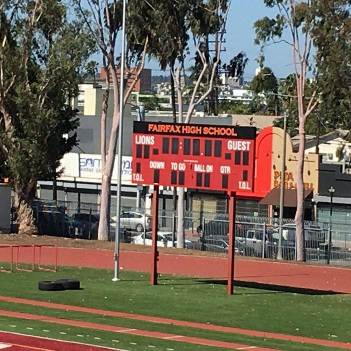 Fairfax high school football