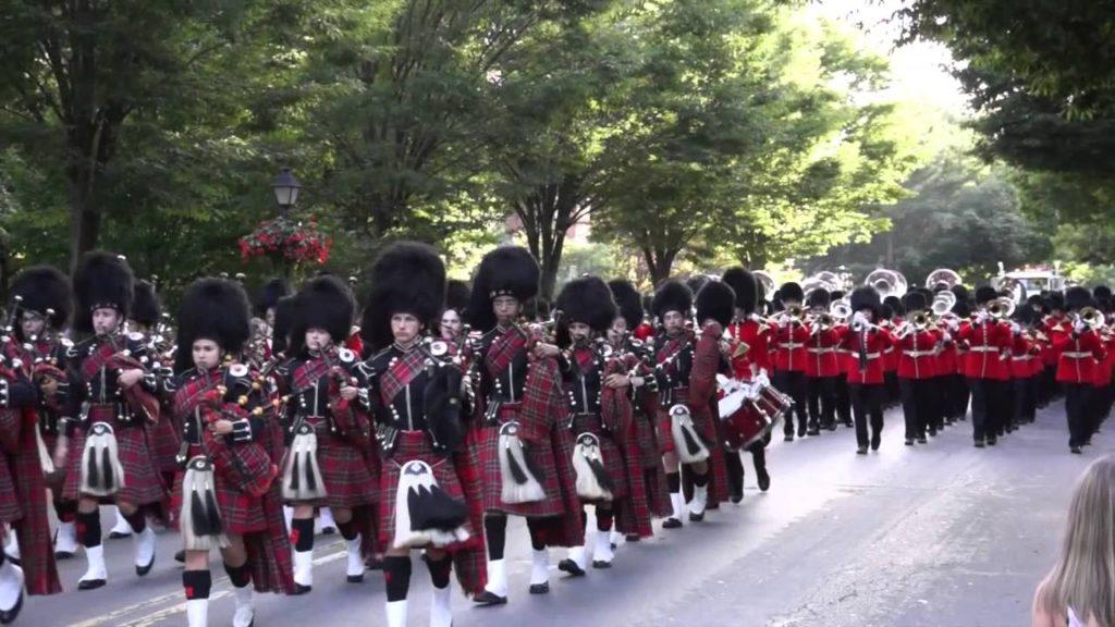 Liberty marching band