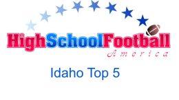 Idaho Top 5