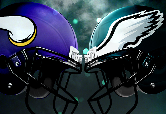 eagles vikings