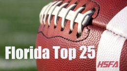 Florida Top 25 high school football