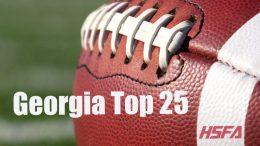 georgia high school football top 25