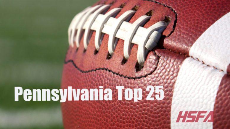 pennsylvania high school football top 25