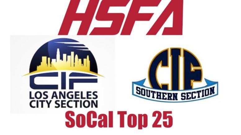 Southern California Top 25