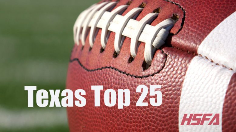 texas high school football top 25