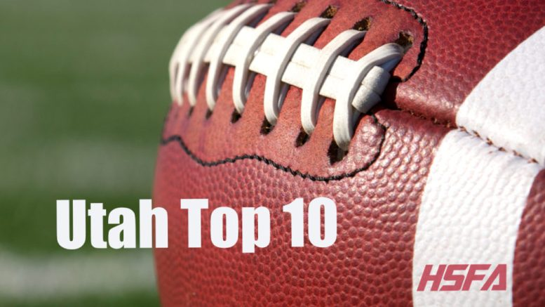 Utah Top 10 high school football