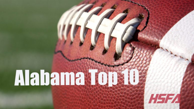alabama high school football top 10