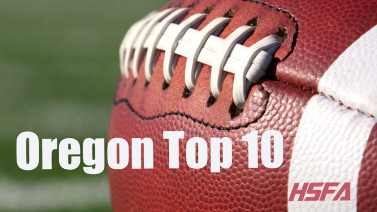 oregon high school football top 10