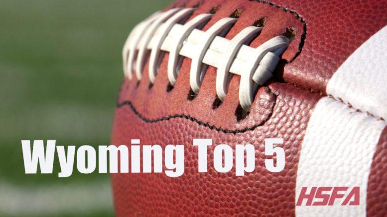 wyoming high school football top 5
