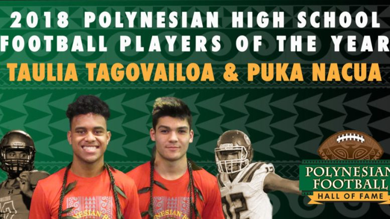 polynesian high school football co-player of the year