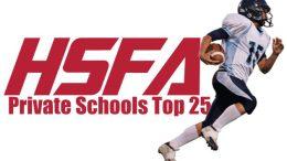 private schools top 25 high school football
