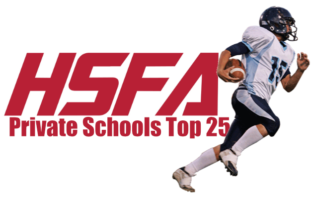private schools top 25 high school football