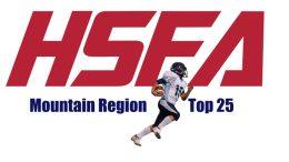 Mountain region top 25