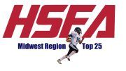 midwest region high school football top 25