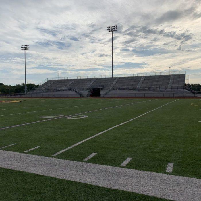 Brickyard Stadium Hobart high school football