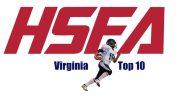 virginia high school football top 10
