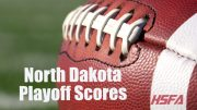 North Dakota high school football playoff scores