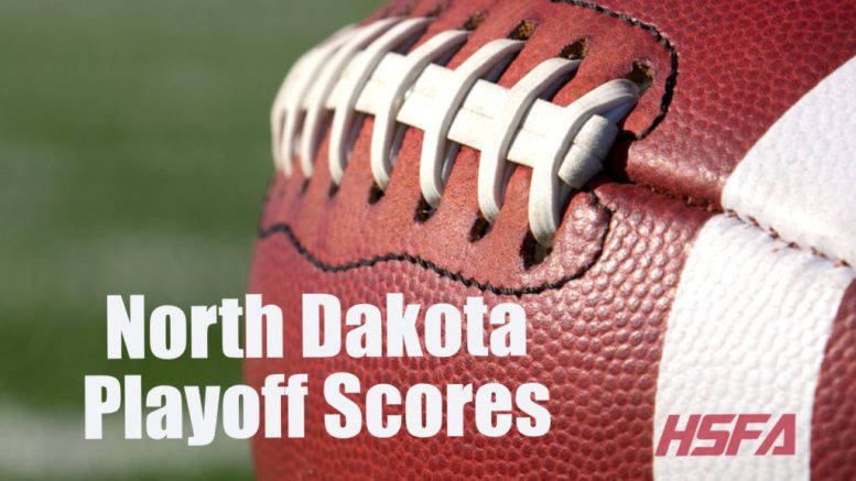 North Dakota high school football playoff scores