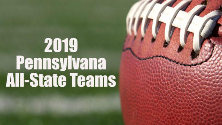 pennsylvania all-state high school football teams