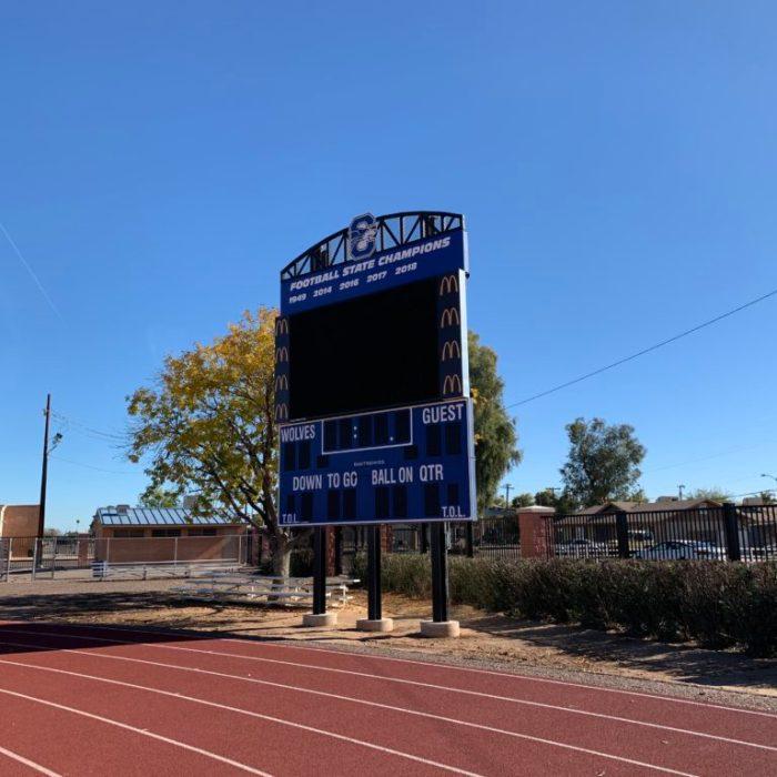 chandler high school football