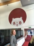Wise Owl over Bournville College
