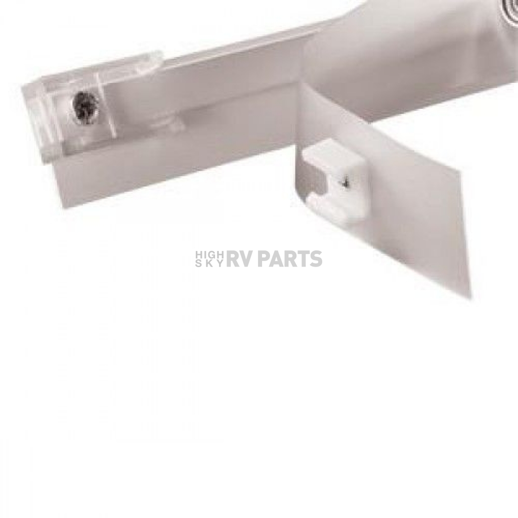 window curtain track wall mounted 45 inches white a502