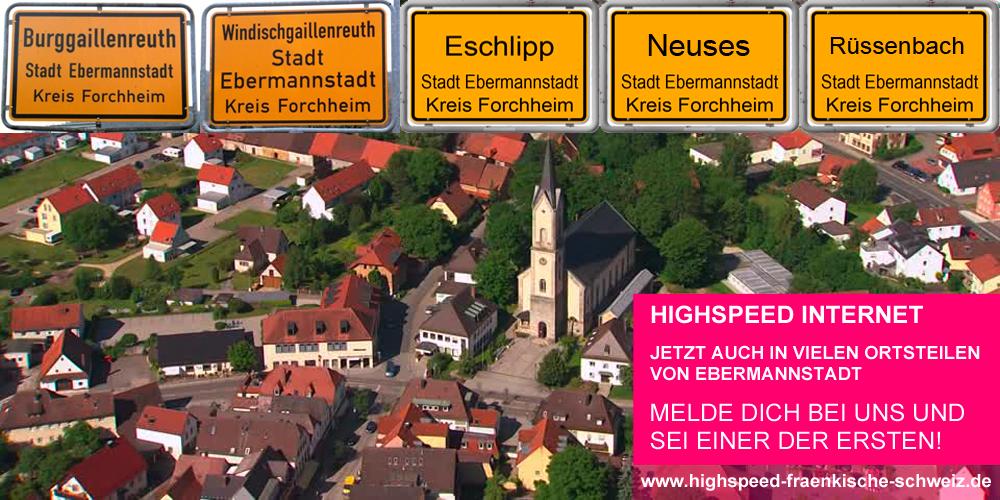 Ausbaugebiet Ebermannstadt