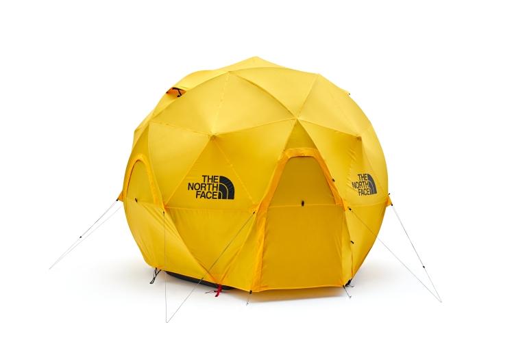ザ・ノースフェイス 2018年新作テント『Geodome 4(ジオドーム 4)』はファミキャンにも注目!!オレンジ色の球体がキャンプ場で映える!