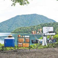 キャンプサイトを収納ラック(棚)ですっきり!!おしゃれキャンプにおすすめラック3選!!