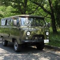 ロシア車UAZ(ワズ)の輸入販売再開!!バンタイプ・ジープタイプもキャンプで大注目間違いなし!!