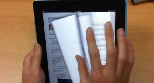 smart e book New Paper Like Page Flipping System For E Books