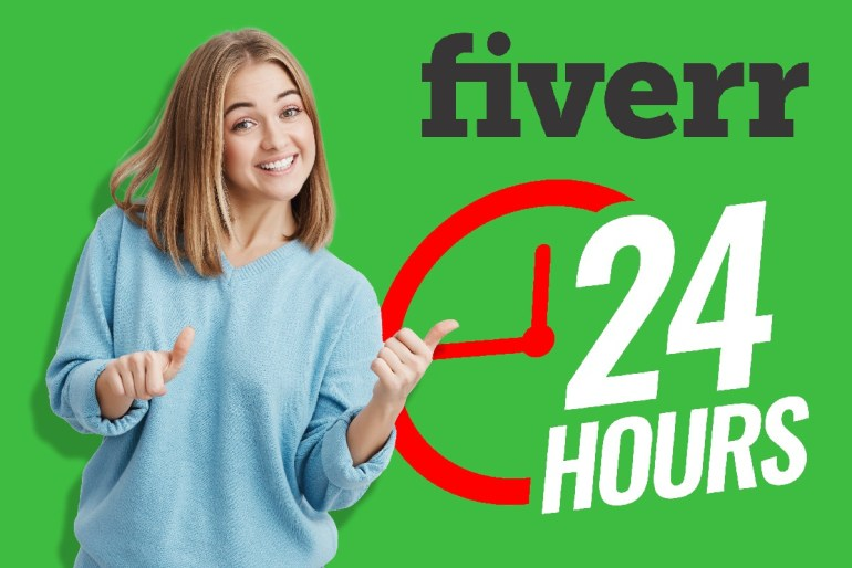 stay online 24 hours in fiverr to rank your gig