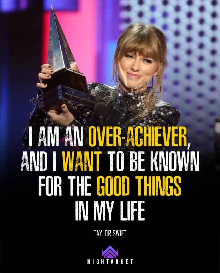 Taylor Swift quotes for life
