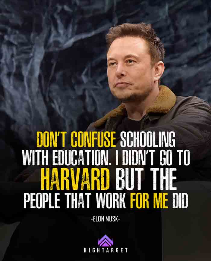 elon musk leadership quotes for success