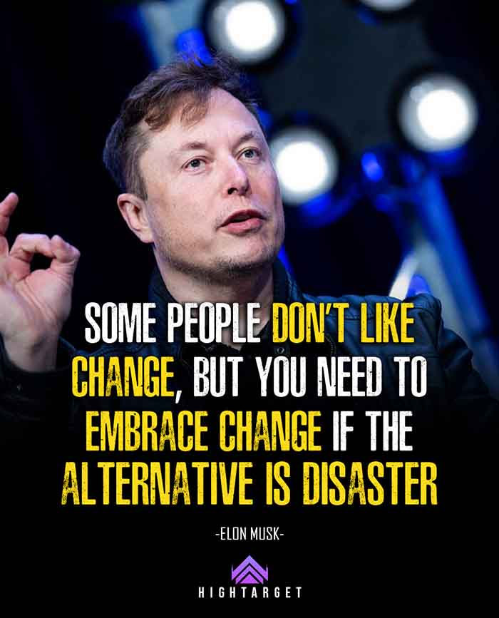 quotes from elon musk to become a success