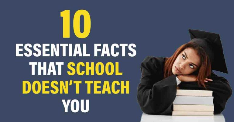 things that school doesn't teach you