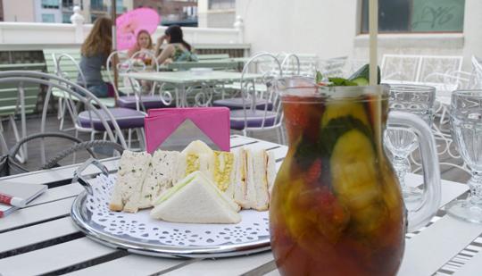 Afternoon Tea at Madame Brussels Melbourne