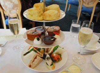 High Tea at the Duxton Hotel