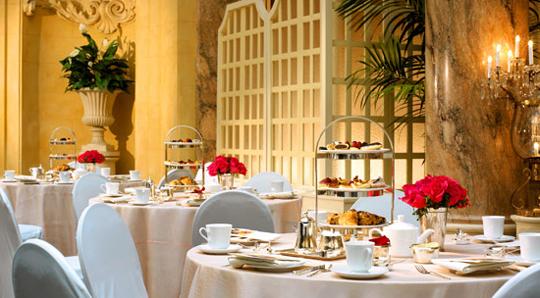 High Tea at the Palace Hotel, San Francisco